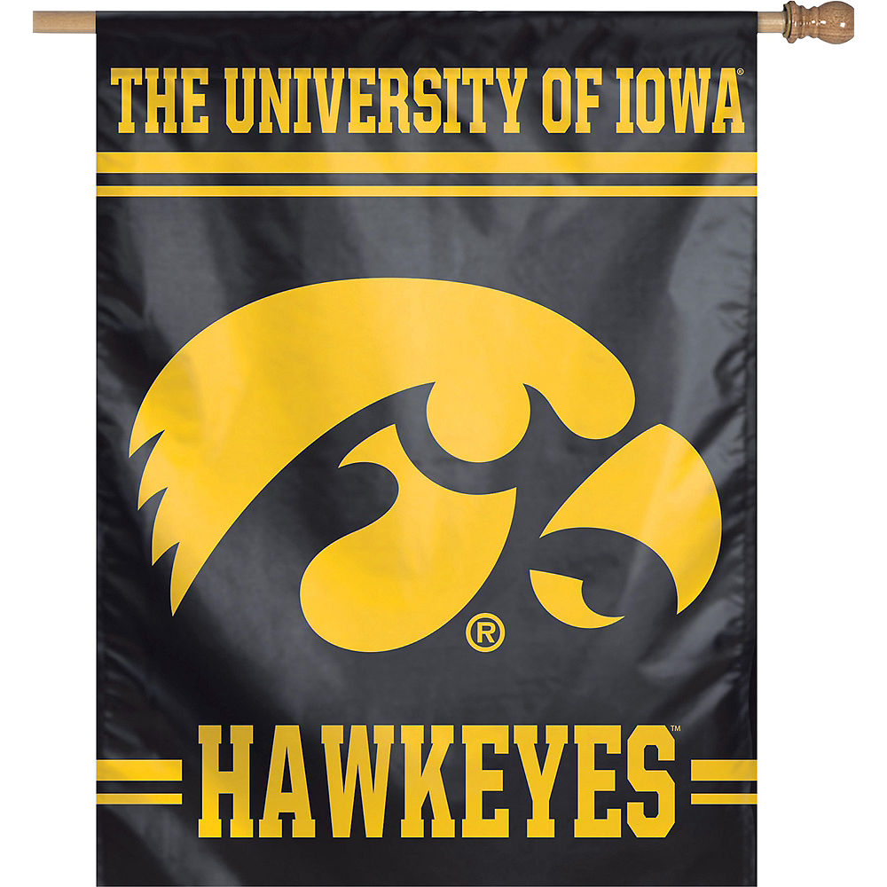 Iowa Hawkeyes Banner Flag Image #1