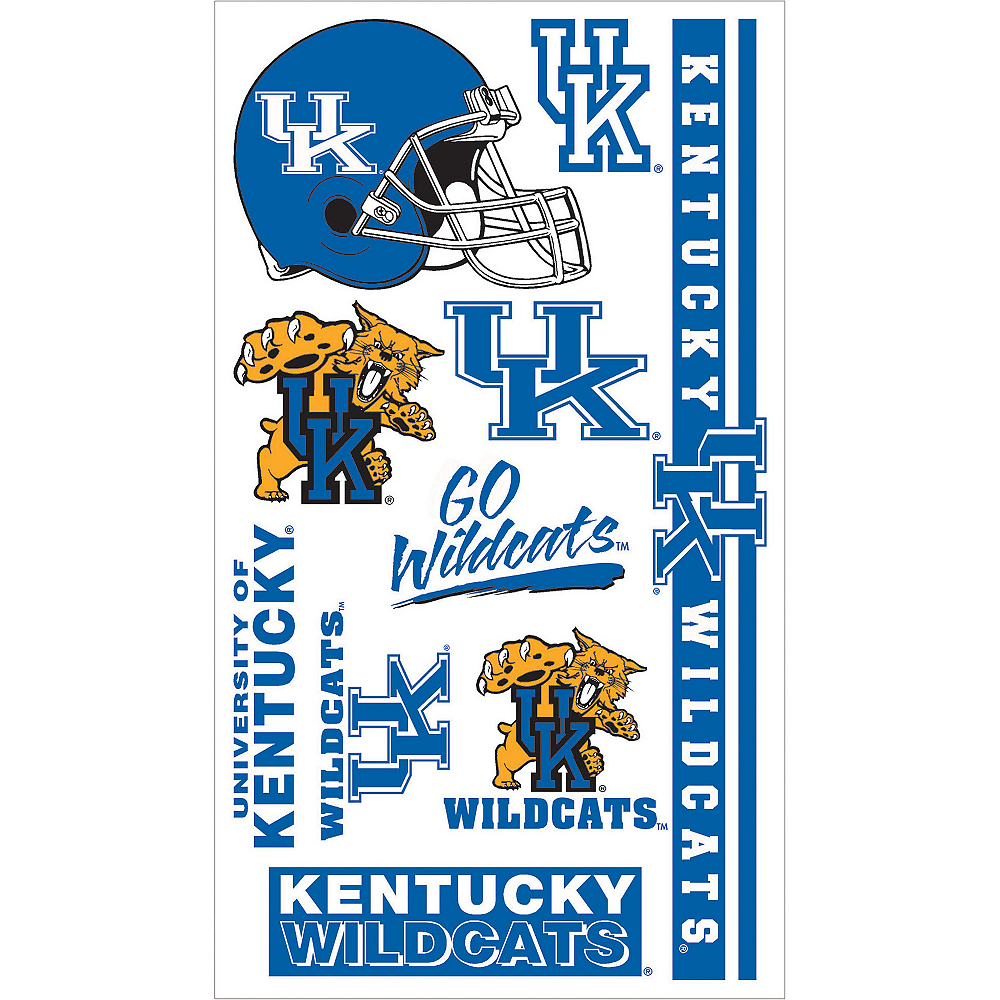Kentucky Wildcats Tattoos 10ct Image #1