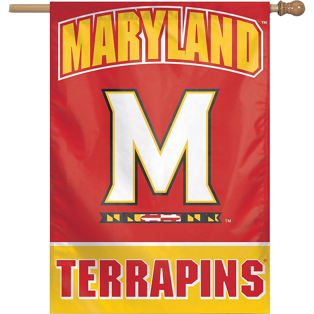 Nav Item for Maryland Terrapins Banner Flag Image #1
