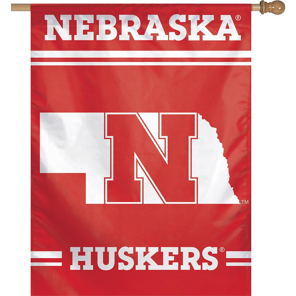 Nebraska Cornhuskers Banner Flag Image #1