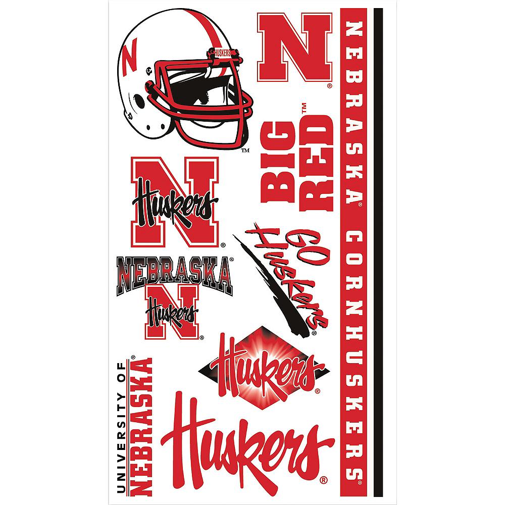 Nebraska Cornhuskers Tattoos 10ct Image #1