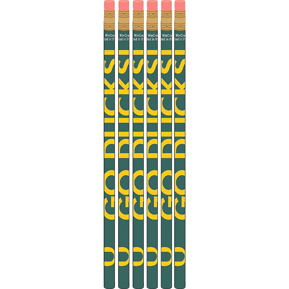 Oregon Ducks Pencils 6ct Image #1