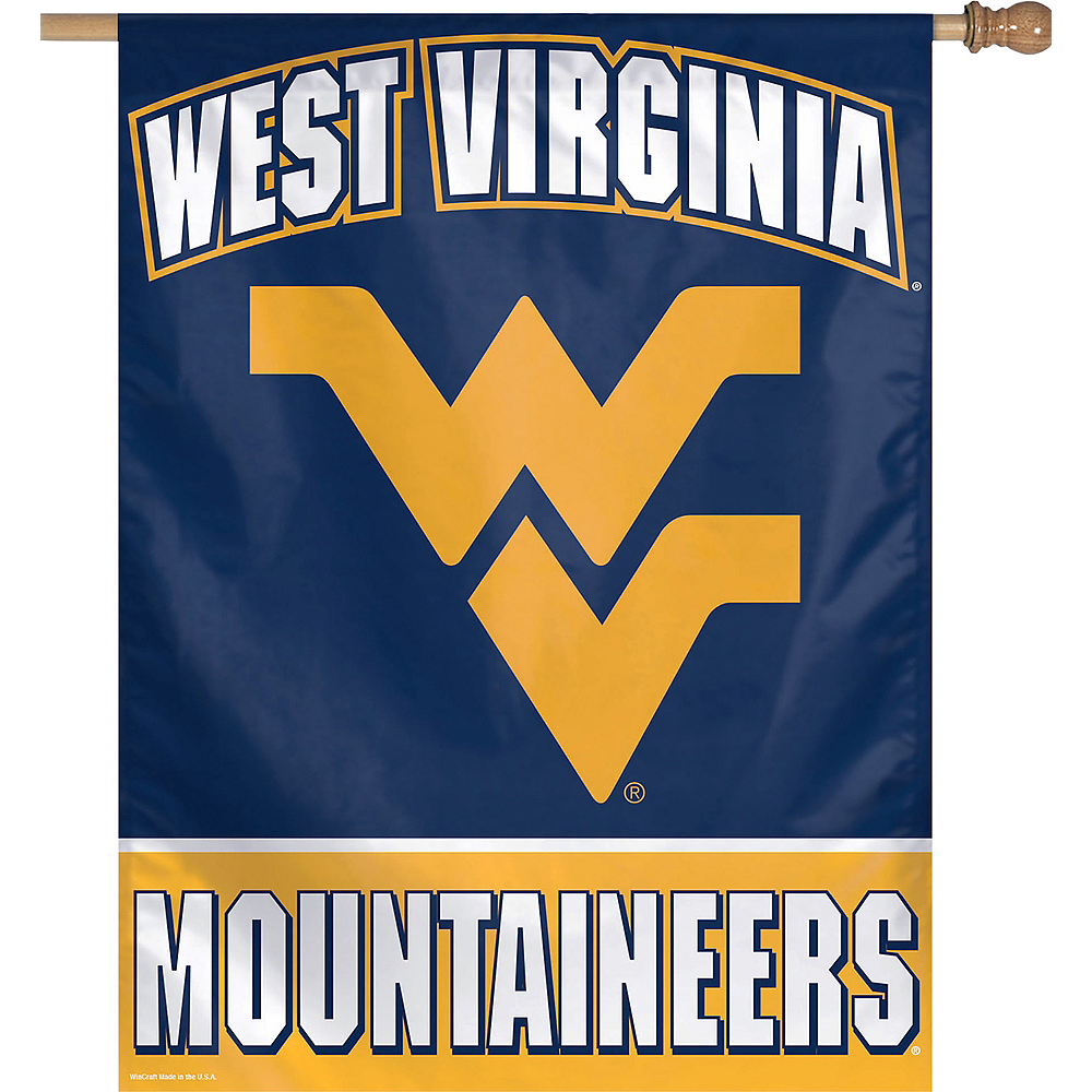 West Virginia Mountaineers Banner Flag Image #1