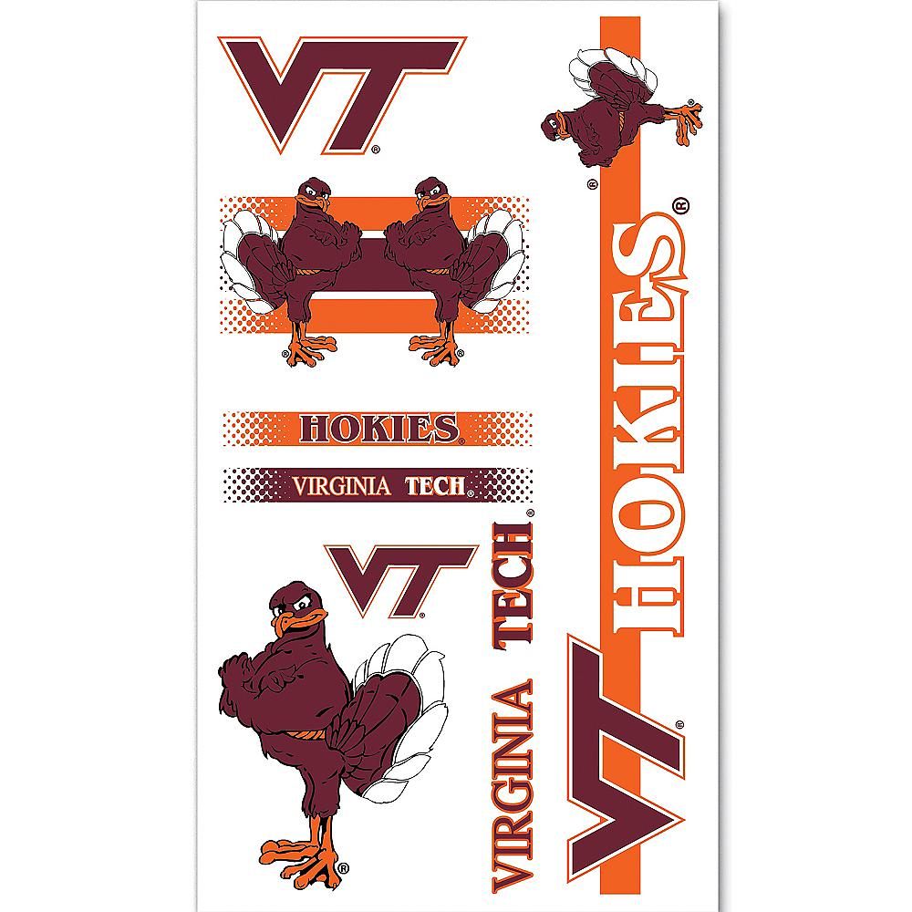 Virginia Tech Hokies Tattoos 7ct Image #1
