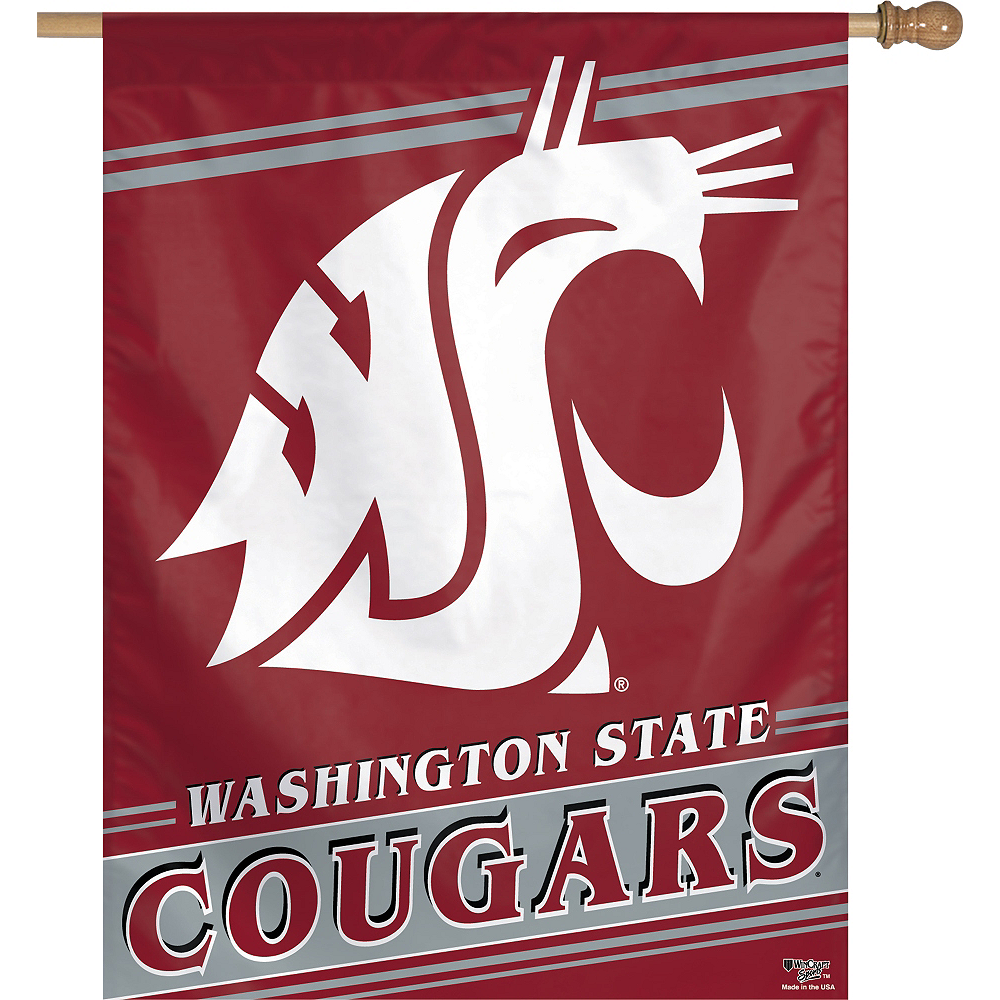 Washington State Cougars Banner Flag Image #1