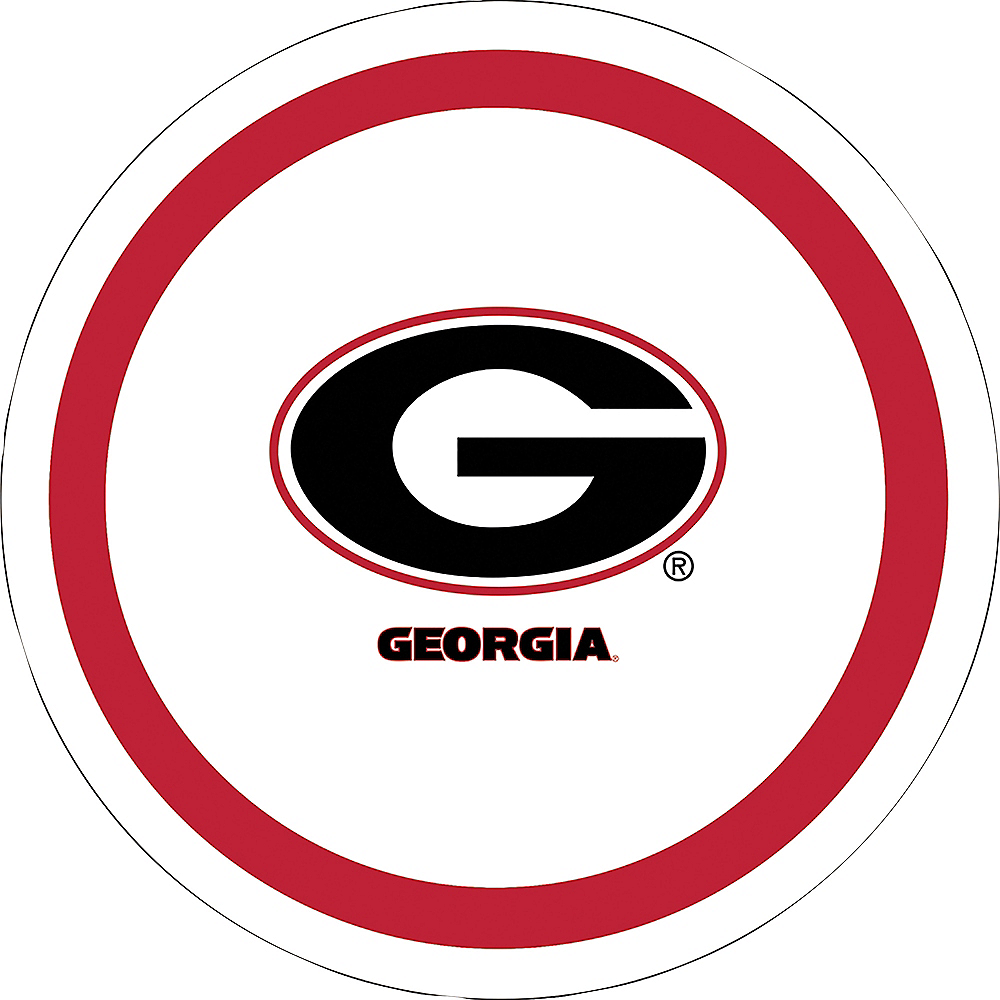 Georgia Bulldogs Lunch Plates 10ct Image #1