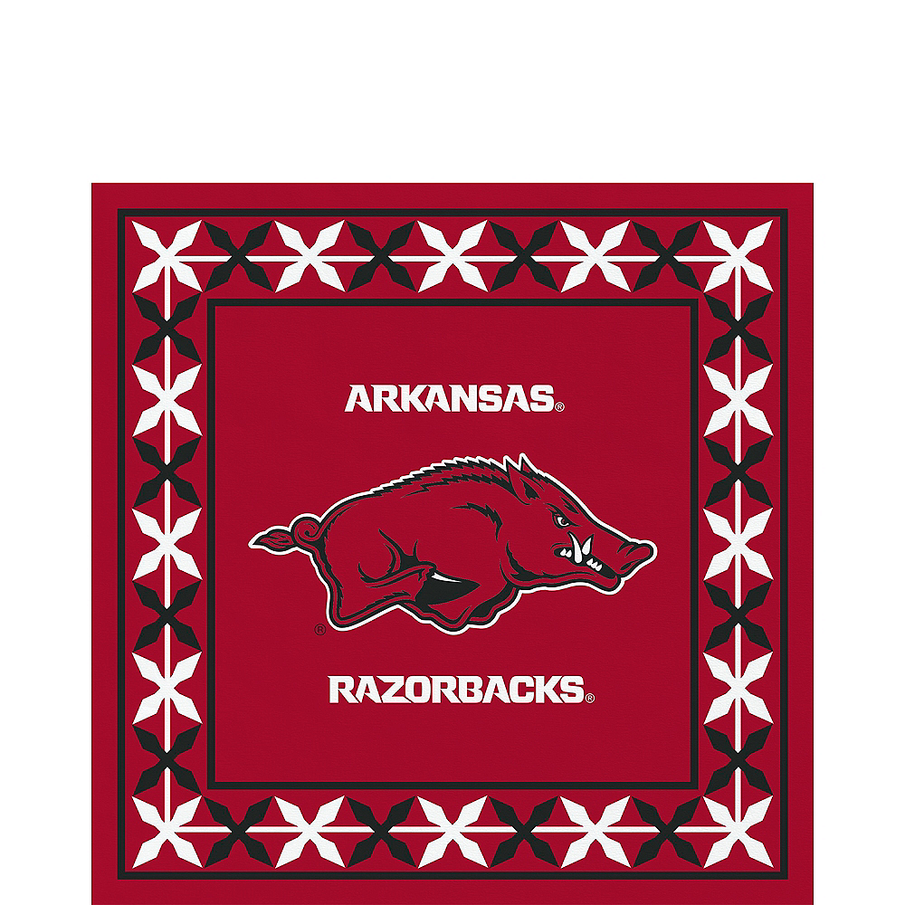 Arkansas Razorbacks Lunch Napkins 16ct Image #1