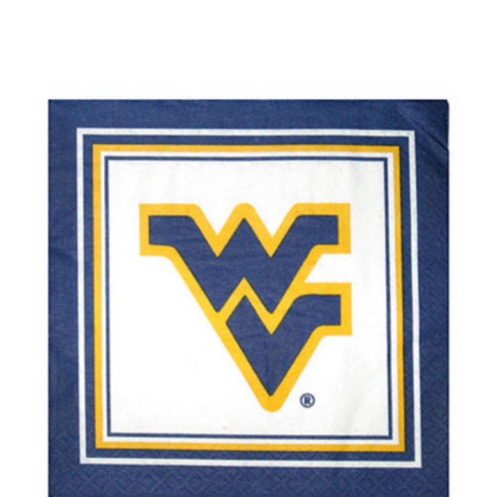 West Virginia Mountaineers Lunch Napkins 20ct Image #1