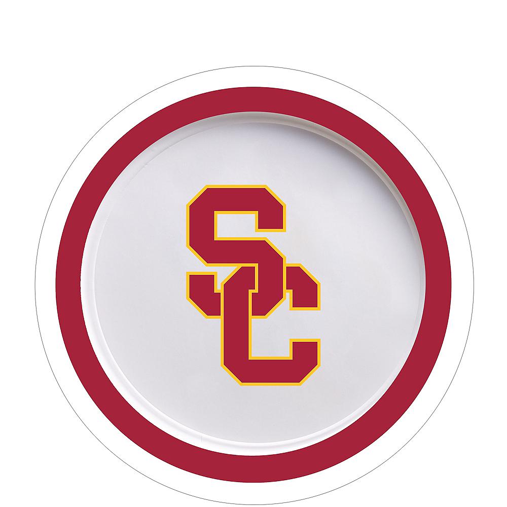 USC Trojans Dessert Plates 12ct Image #1
