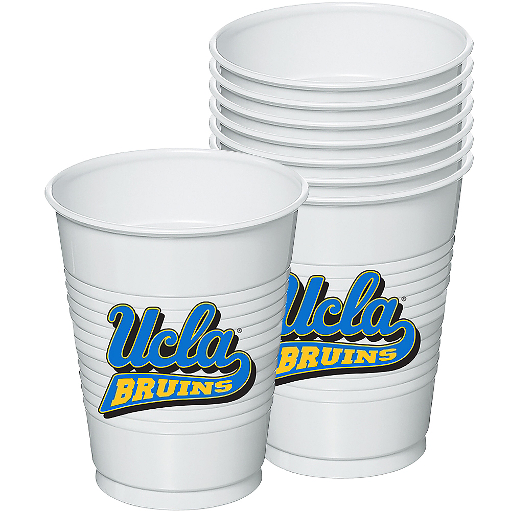 UCLA Bruins Plastic Cups 8ct Image #1