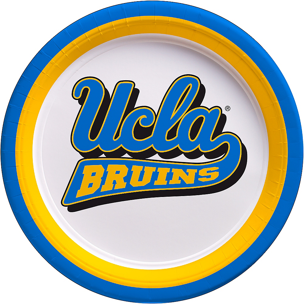 UCLA Bruins Lunch Plates 10ct Image #1