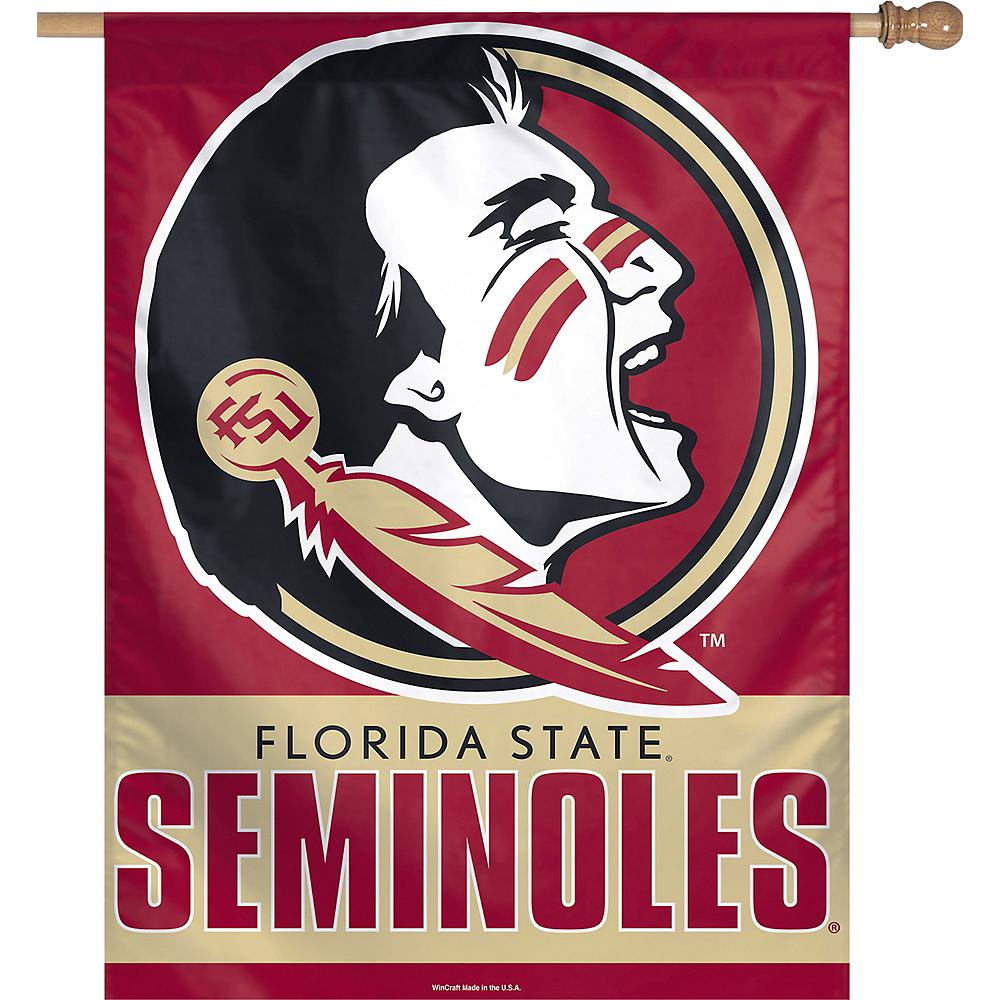 Florida State Seminoles Vertical Flag Image #1