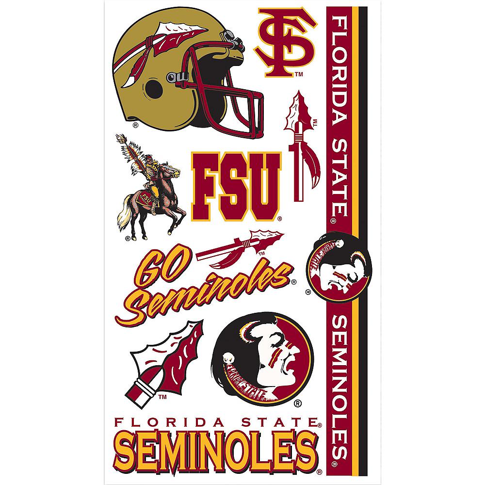 Florida State Seminoles Tattoos 10ct Image #1