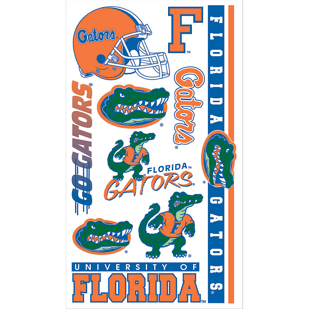Nav Item for Florida Gators Tattoos 10ct Image #1