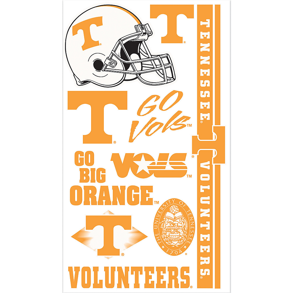 Tennessee Volunteers Tattoos 10ct Image #1