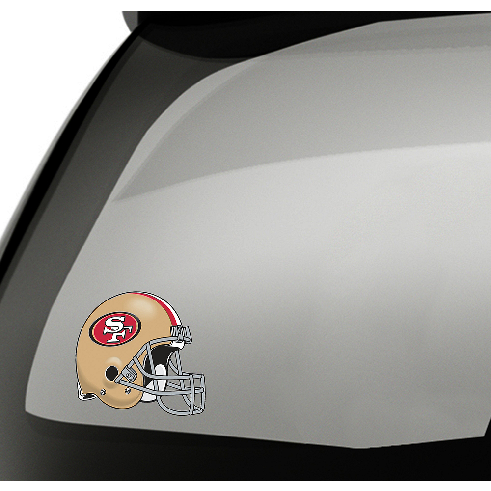 San Francisco 49ers Helmet Decal Image #1