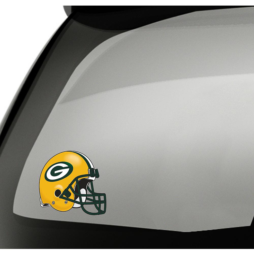 Green Bay Packers Helmet Decal Image #1