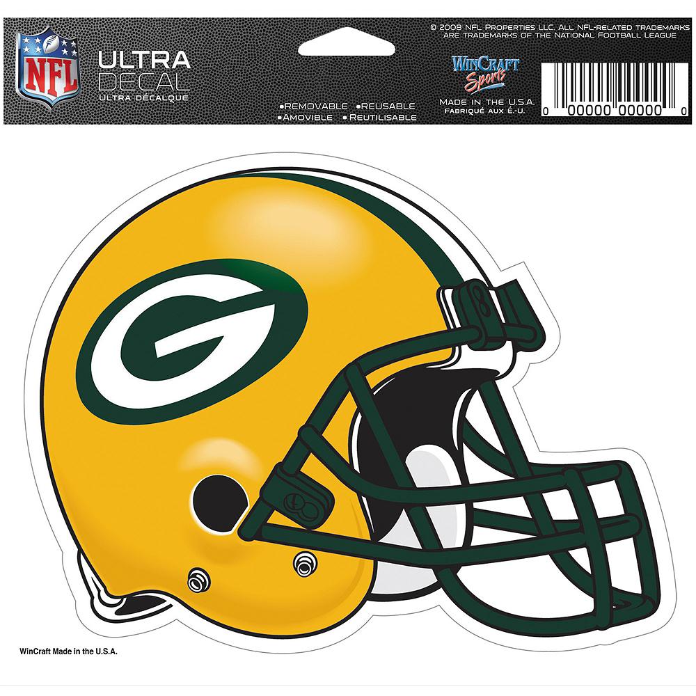 Green Bay Packers Helmet Decal Image #2