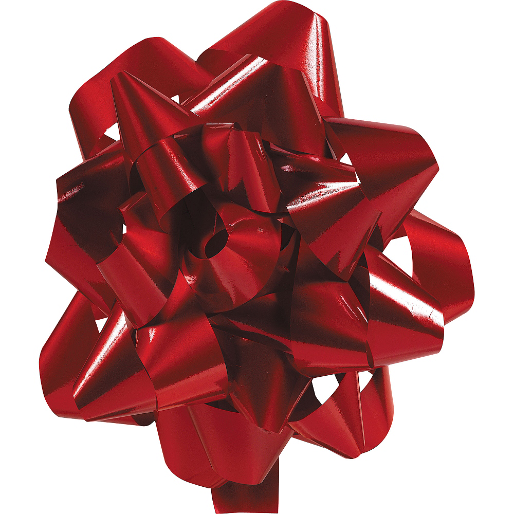 Red Lacquer Gift Bow Image #1