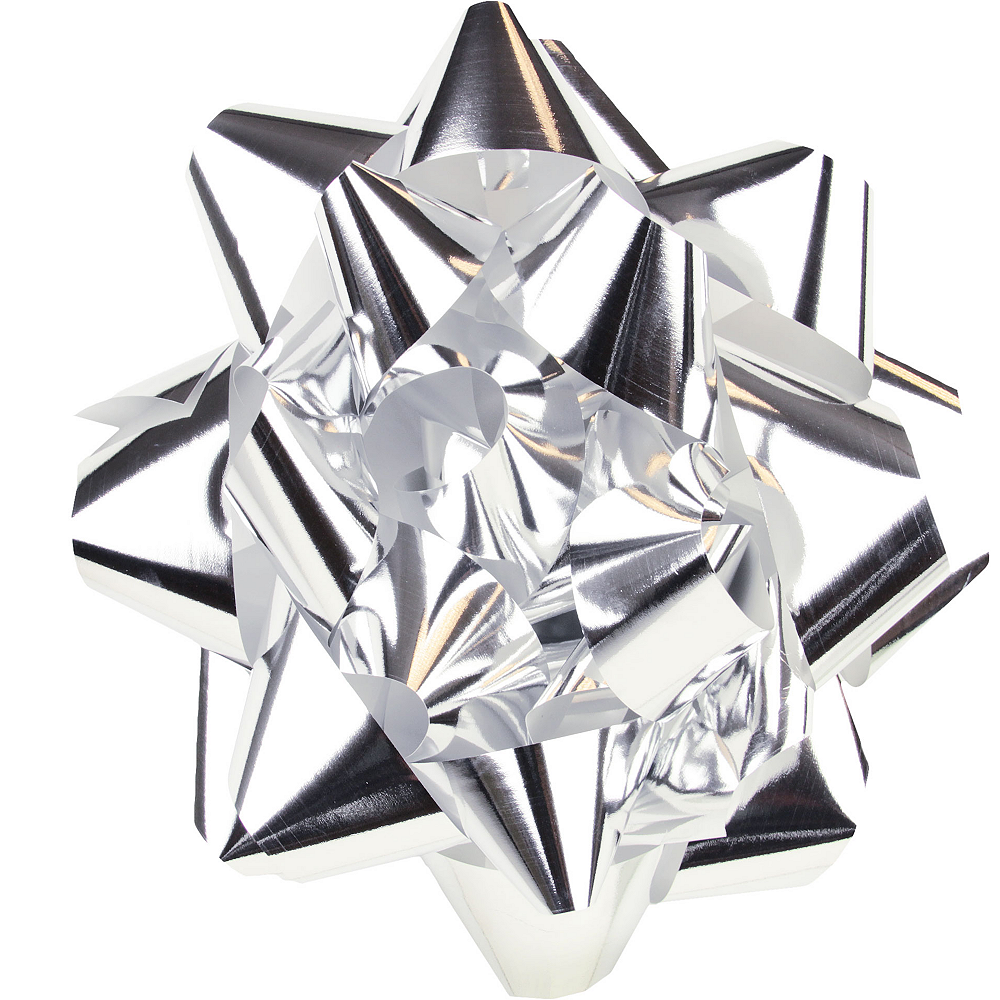 Silver Gift Bow Image #1