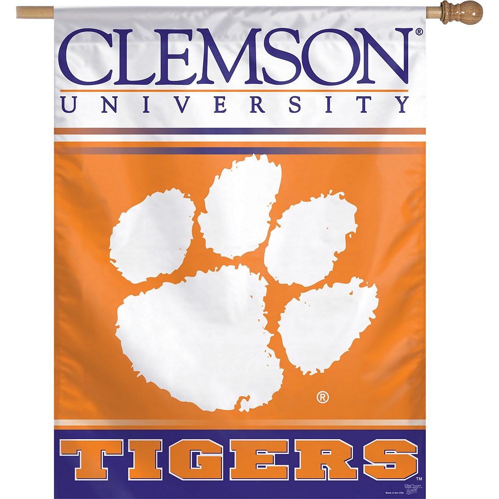 Nav Item for Clemson Tigers Banner Flag Image #1