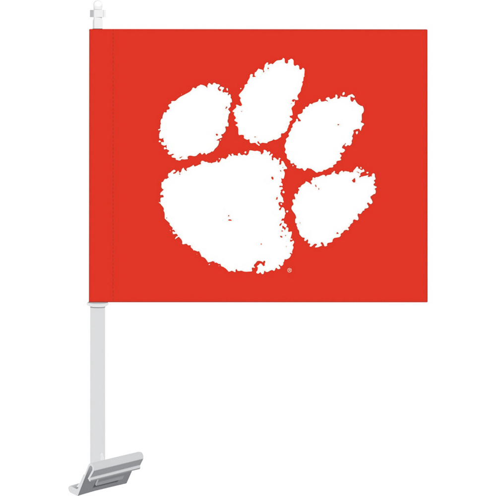 Clemson Tigers Car Flag Image #1