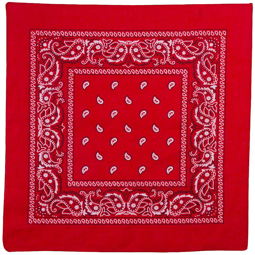 Nav Item for Red Cowboy Bandana Image #2