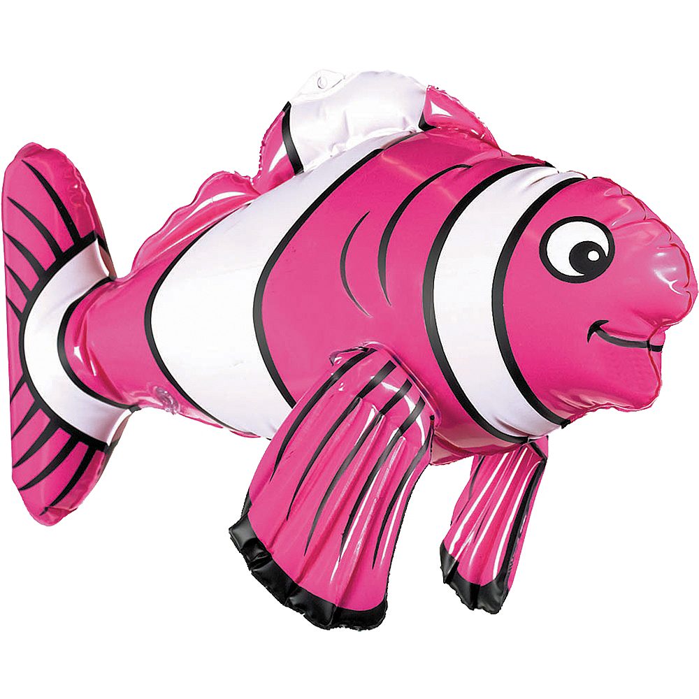 Inflatable Striped Fish Image #3