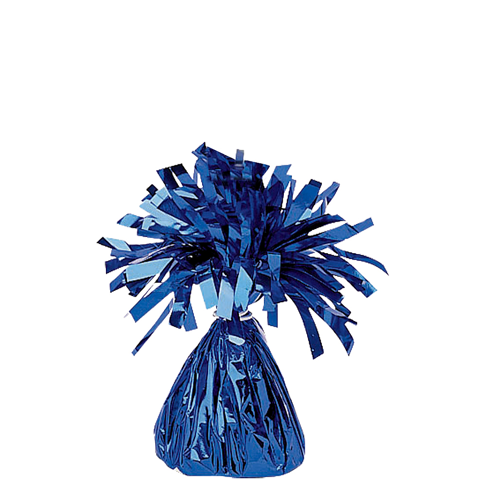 Blue Foil Balloon Weight Image #1