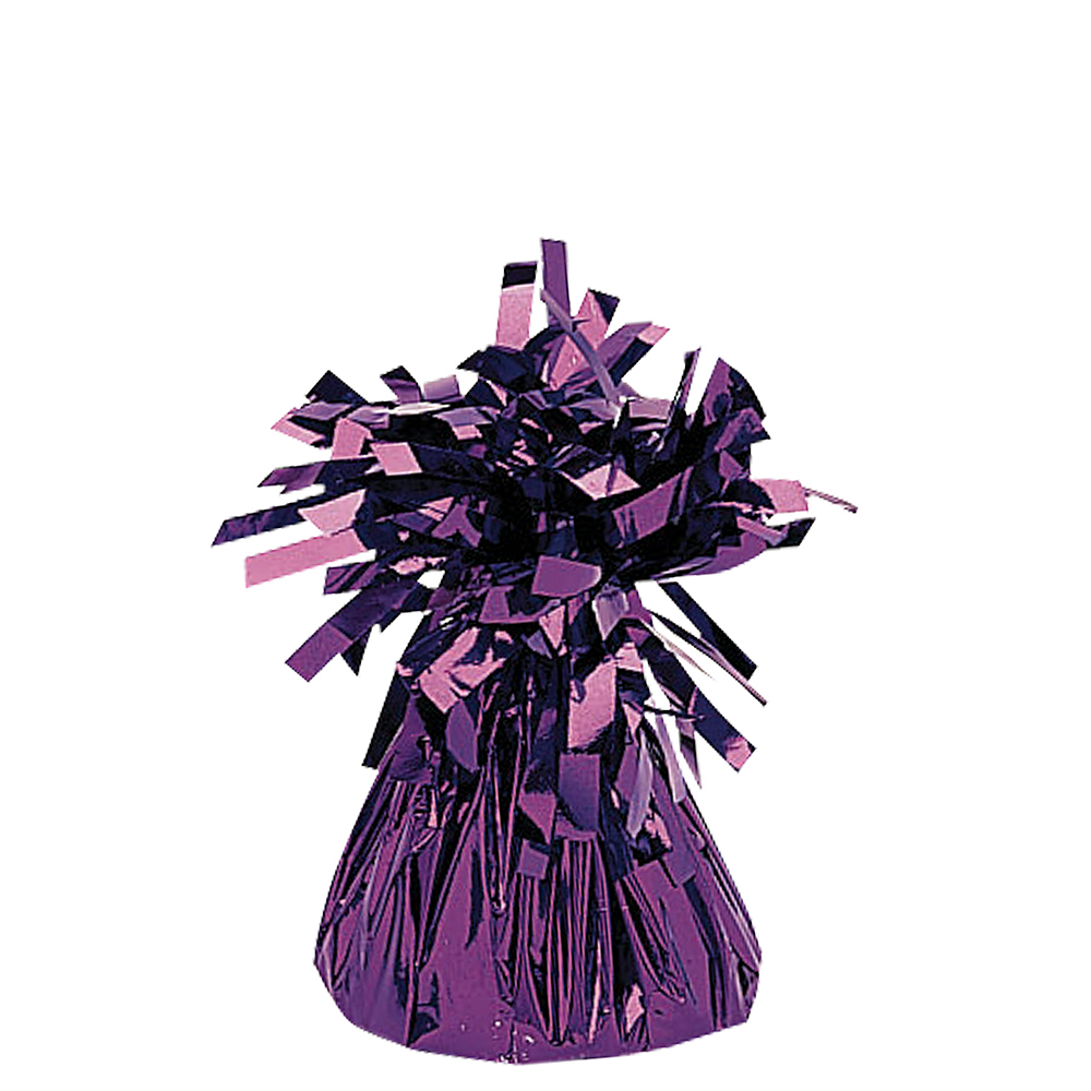 Purple Foil Balloon Weight 6oz Image #1
