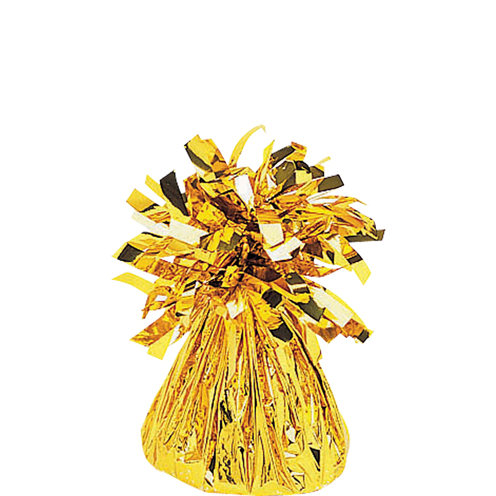 Gold Foil Balloon Weight Image #1
