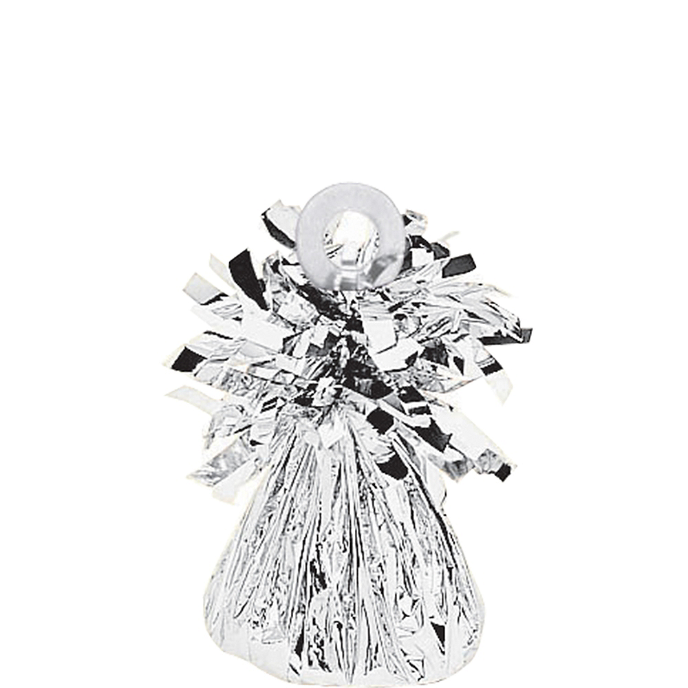 Silver Foil Balloon Weight 6oz Image #1
