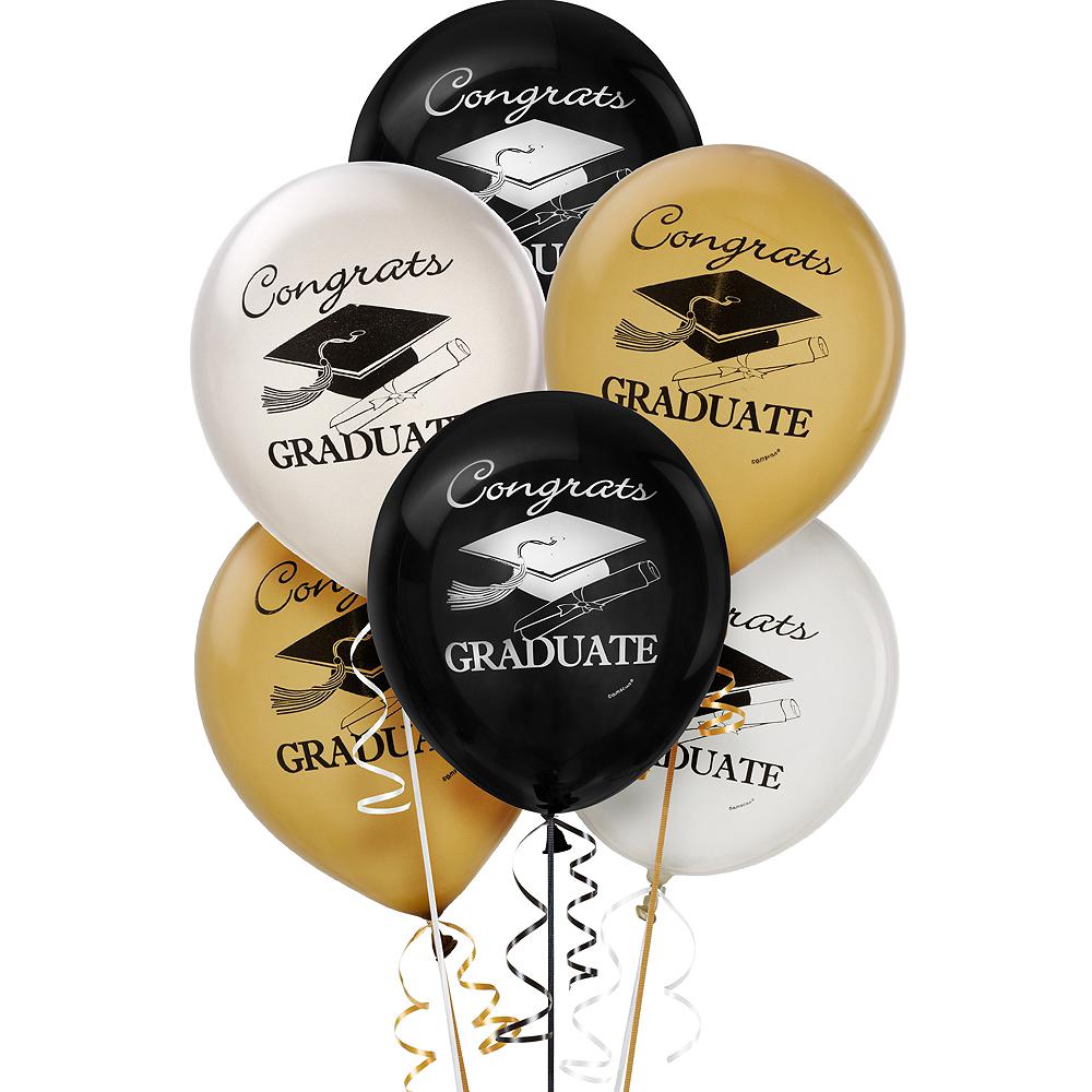 Assorted Graduation Balloons 15ct Image #1