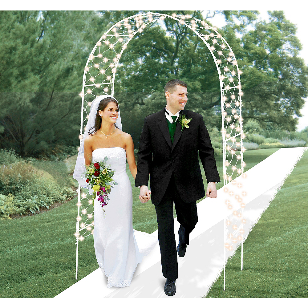 Light-Up Wedding Arch 96in Image #1