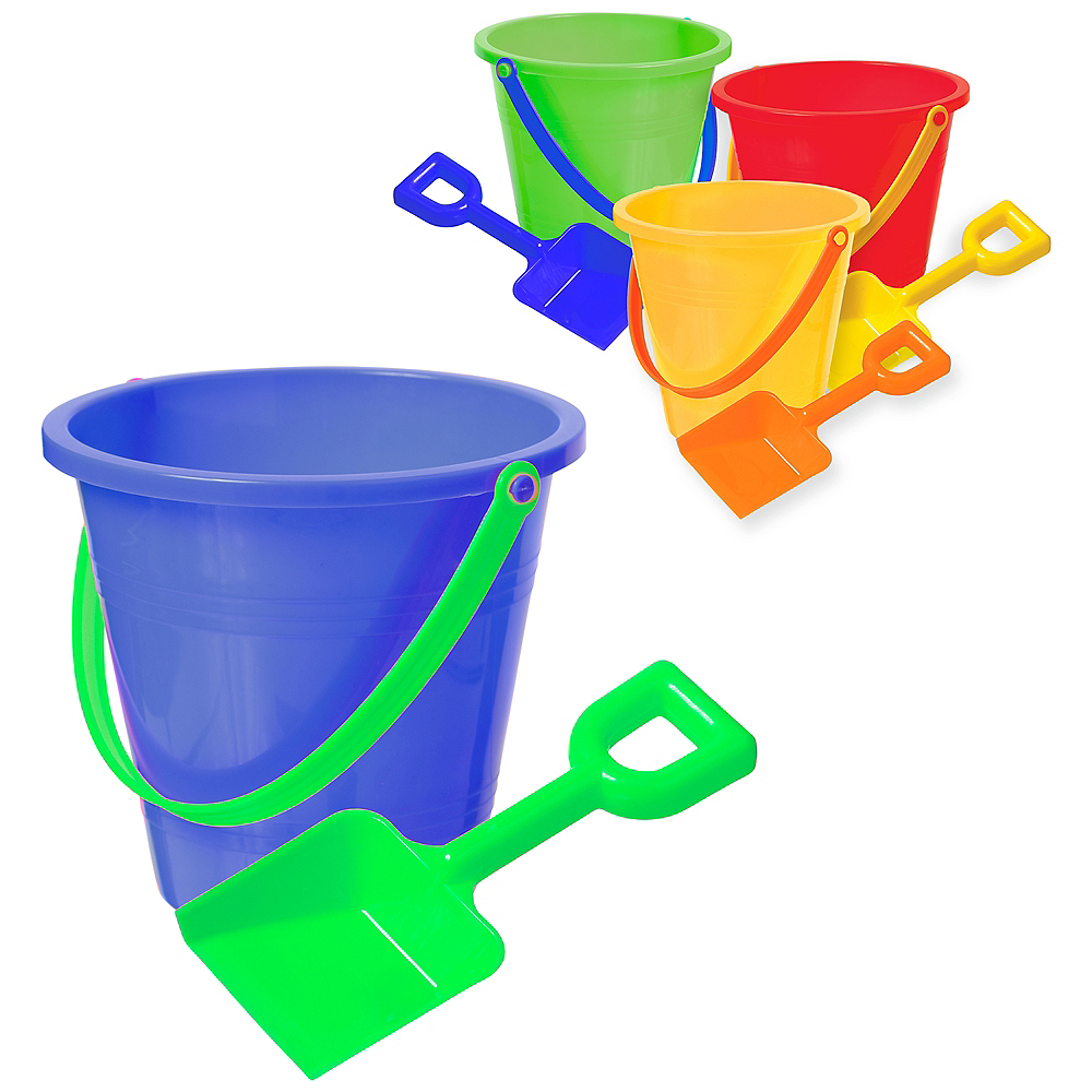 Summer Sand Bucket with Shovel Image #1