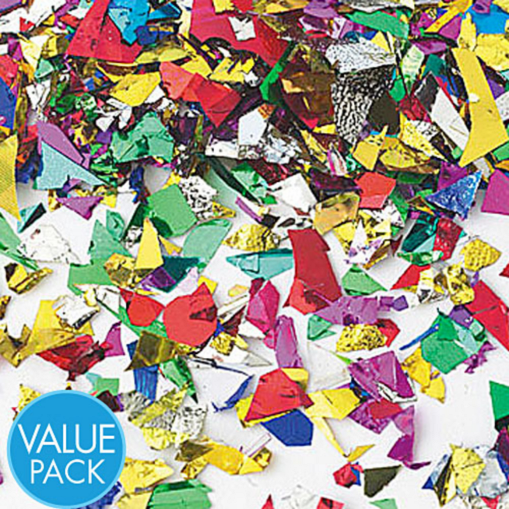 Multicolor Sparkle Confetti Image #1