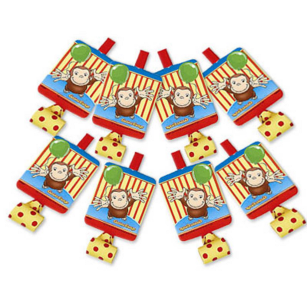 Curious George Blowouts 8ct Image #1