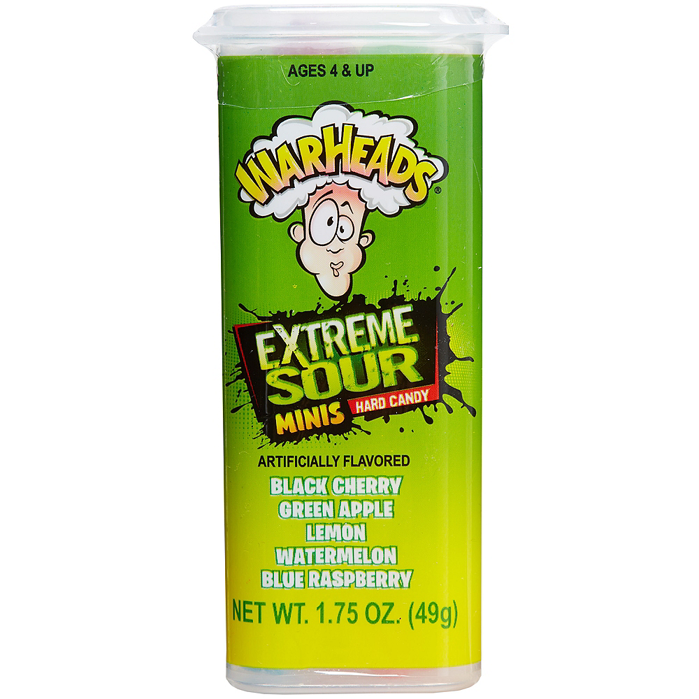 Warheads Extreme Sour Minis Hard Candy 50pc Image #1
