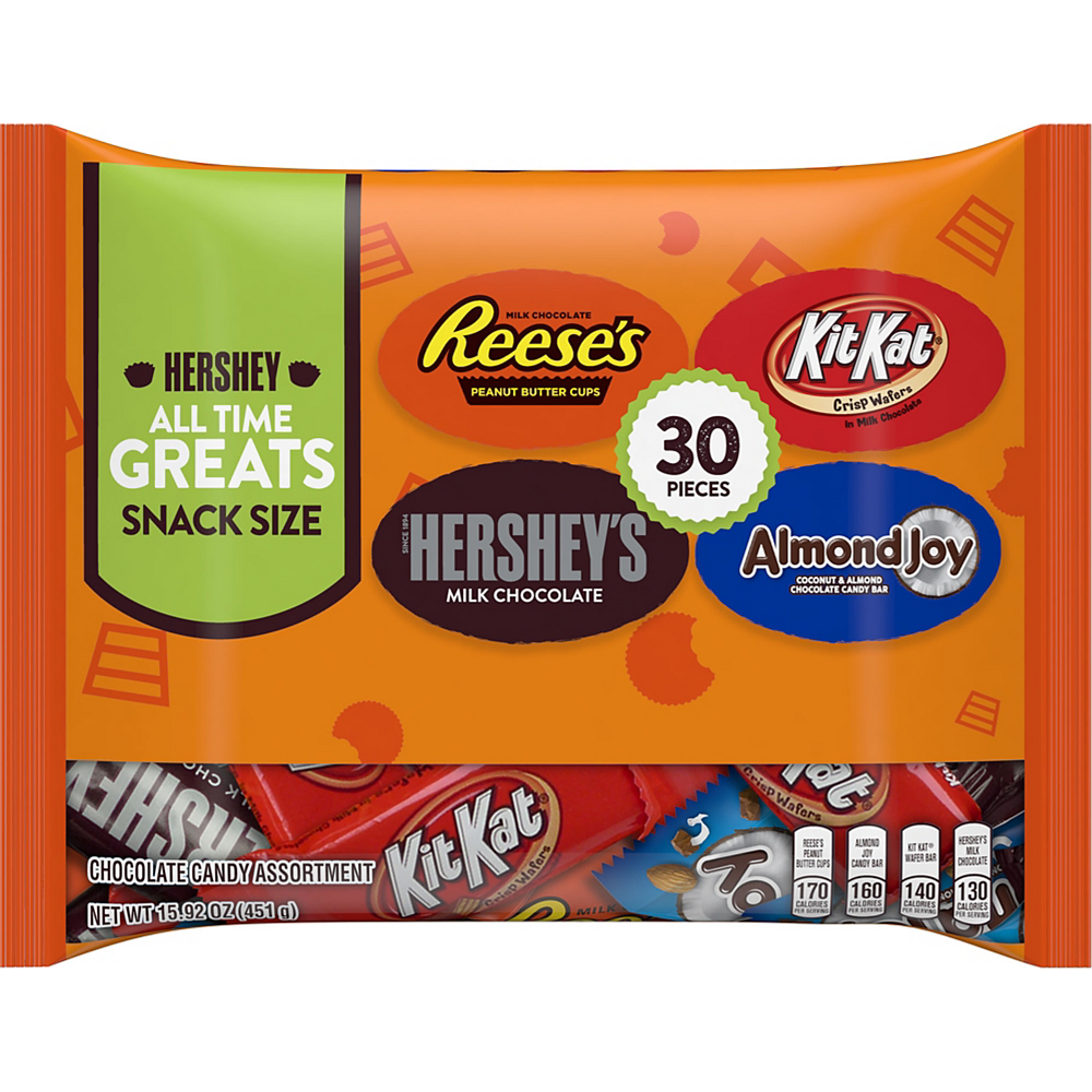 Hershey's Chocolate All Time Greats Mix 30ct Image #1