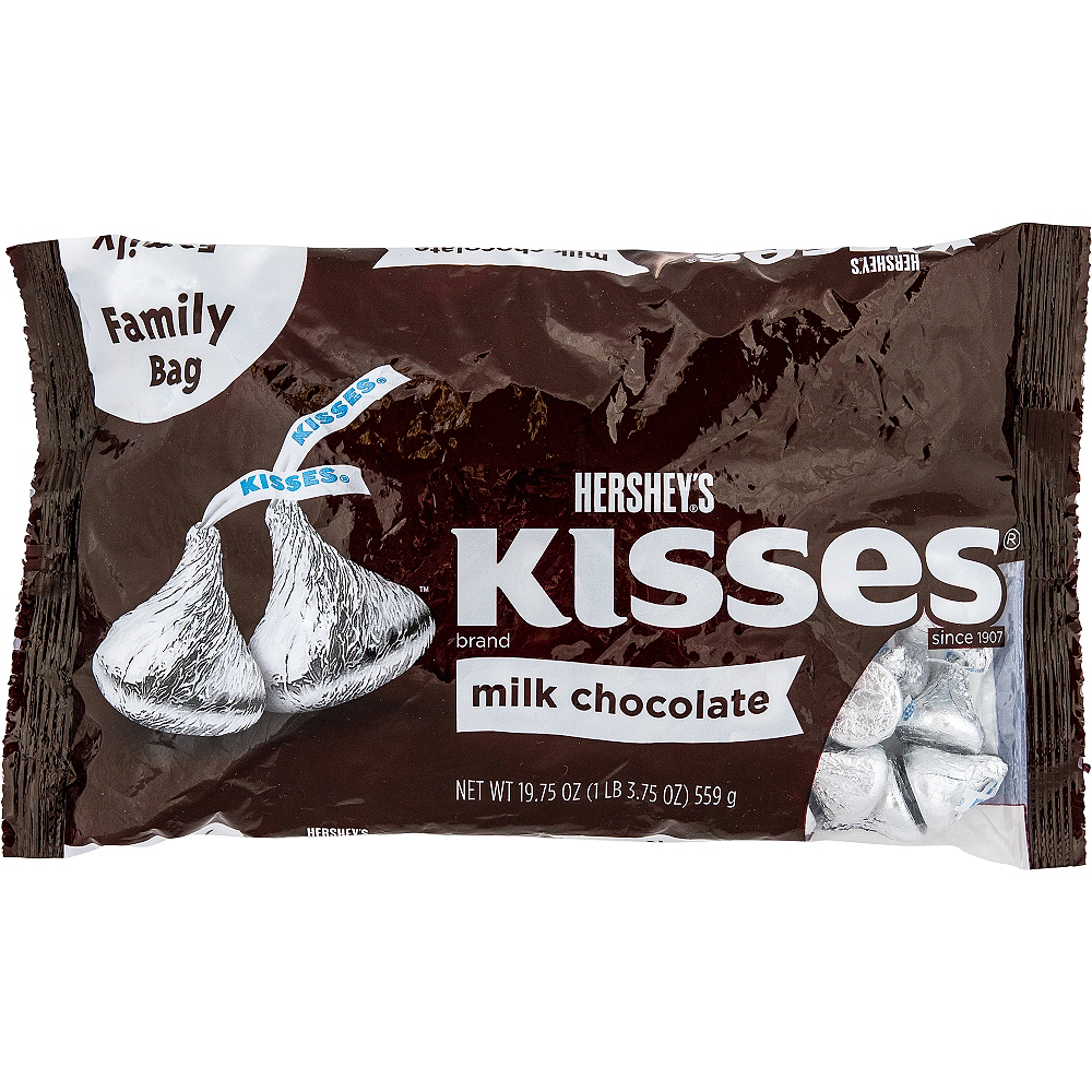 Hershey S Milk Chocolate Kisses Family Bag 126ct