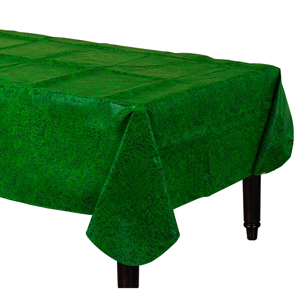Nav Item for Grass Print Flannel-Backed Vinyl Table Cover Image #1