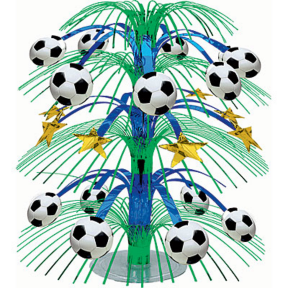 Soccer Cascade Centerpiece Image #1