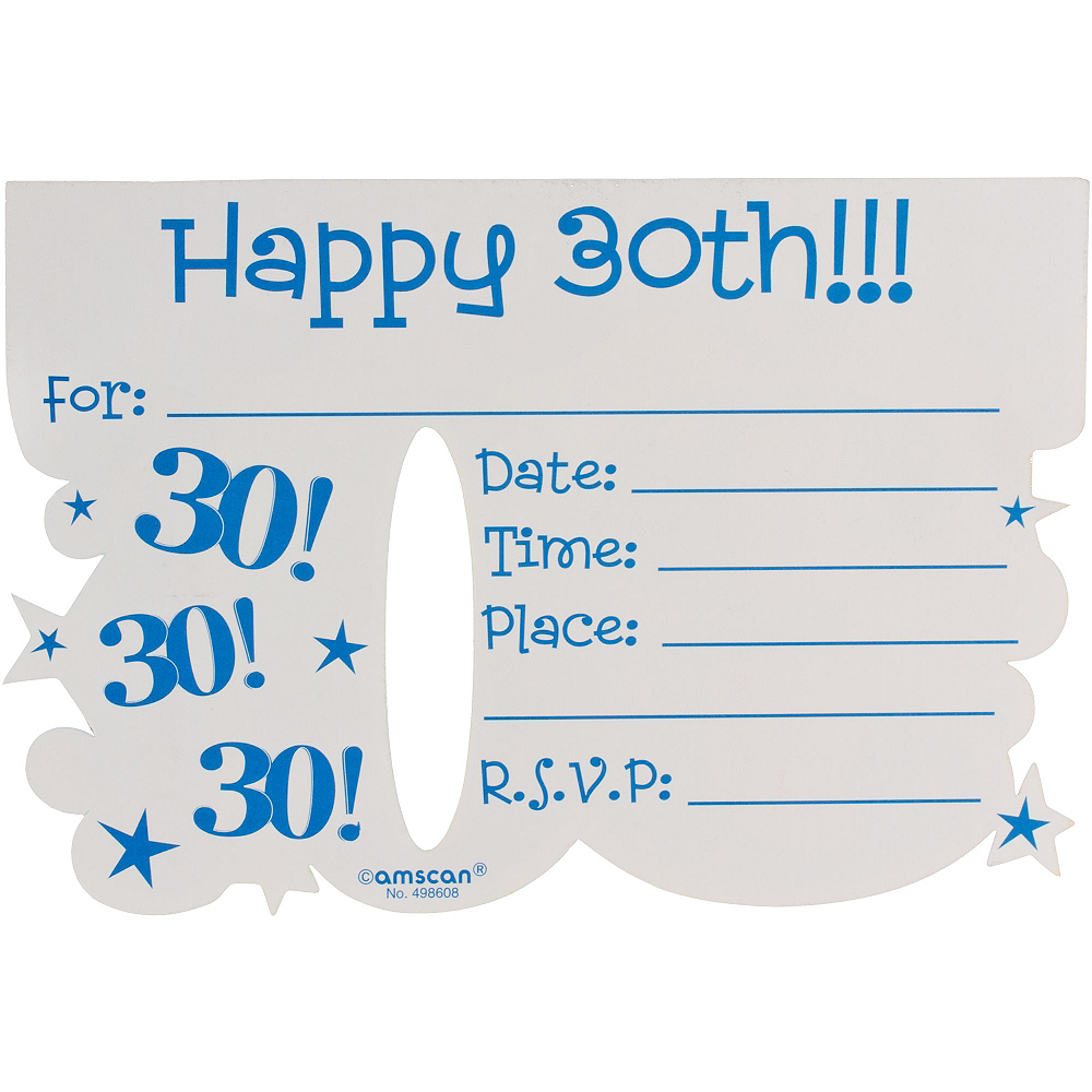 aged to perfection 30th postcard invitations 8ct party city