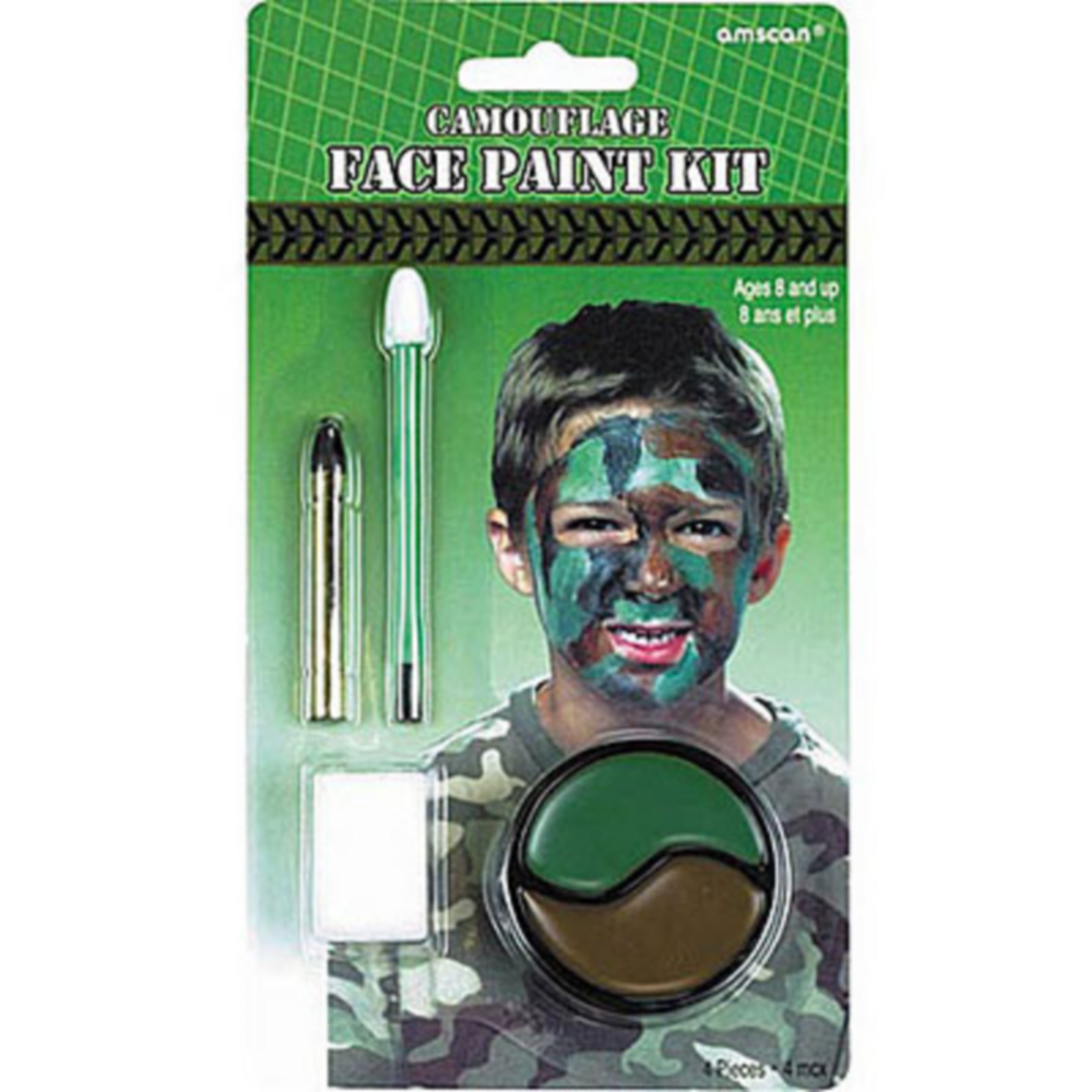 Camouflage Face Paint Image #1