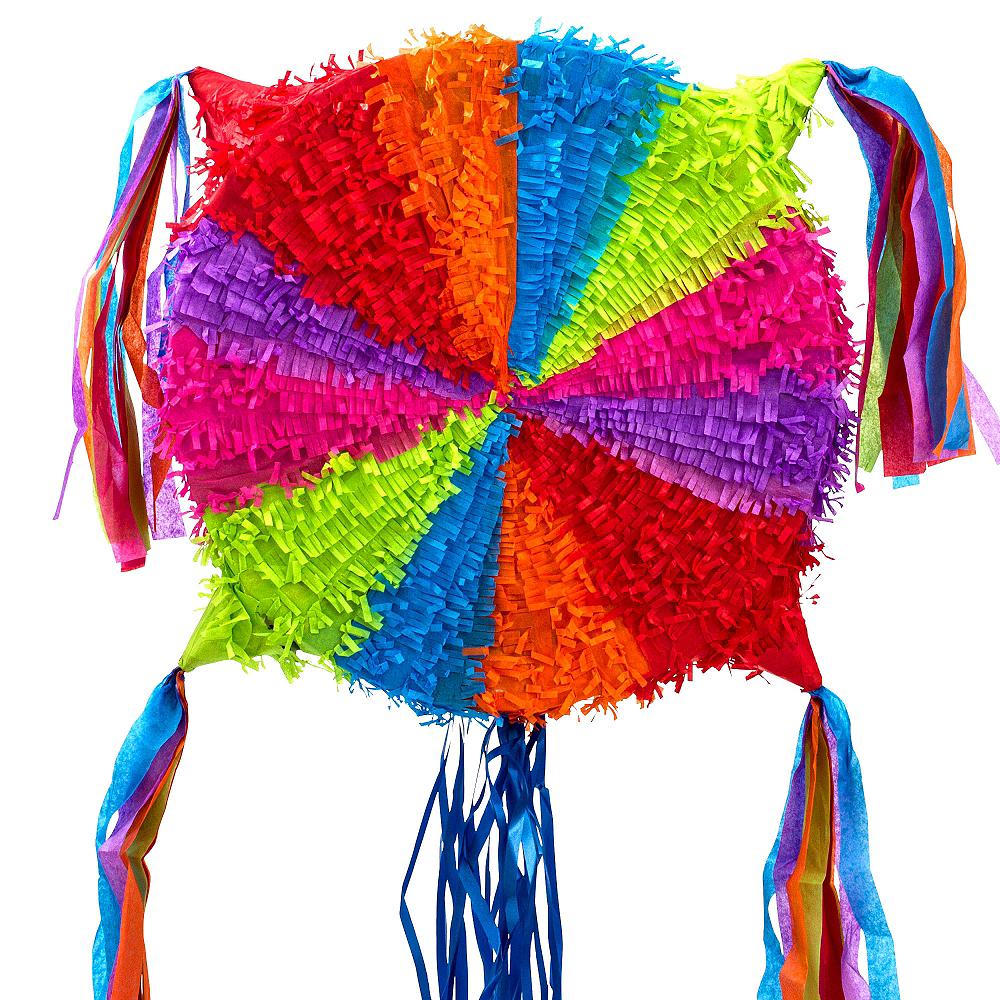 Pull String Add-a-Balloon Multicolor Pinata Image #3