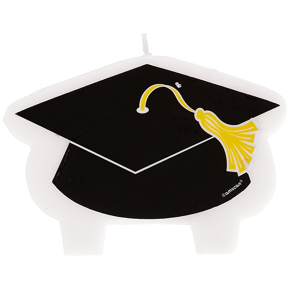 Nav Item for Mortarboard Cap Graduation Candle Image #1