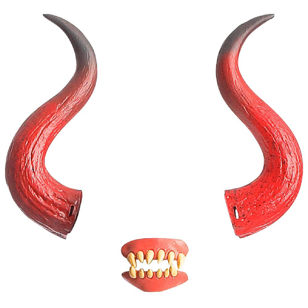Hellion Horns with Teeth Image #2
