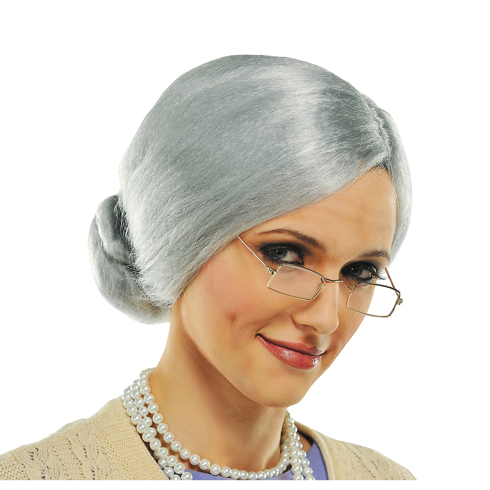 Grandma Wig Image #1