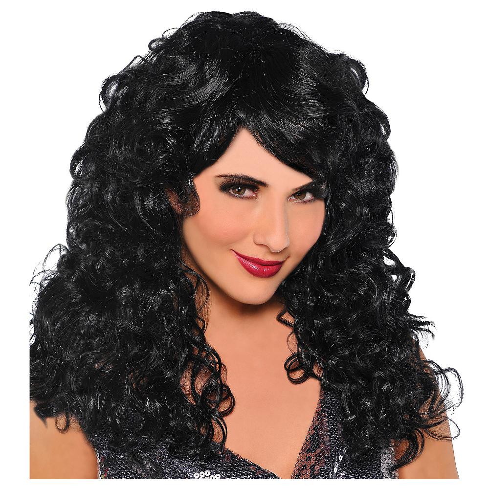 Seduction Black Wig Image #1