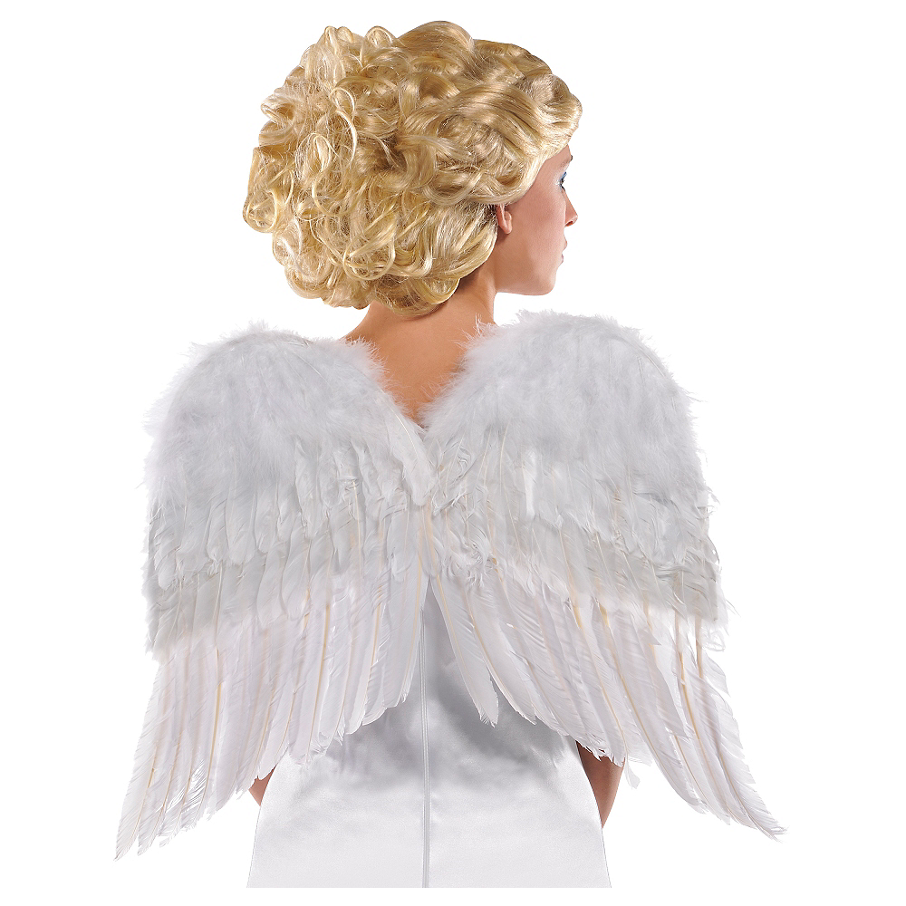 White Angel Wings Image #1